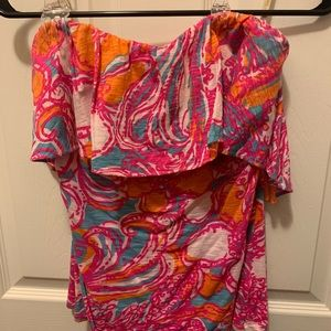 Lily Pulitzer Tube Top